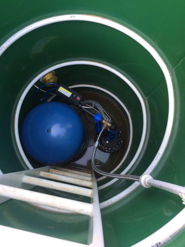 Замена погружного насоса в скважине